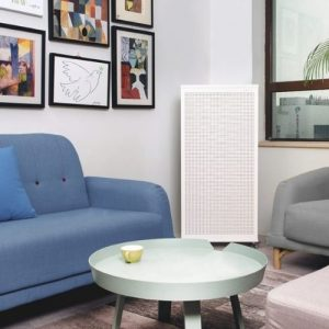 The Smart Air Blast Air Purifier in a living room